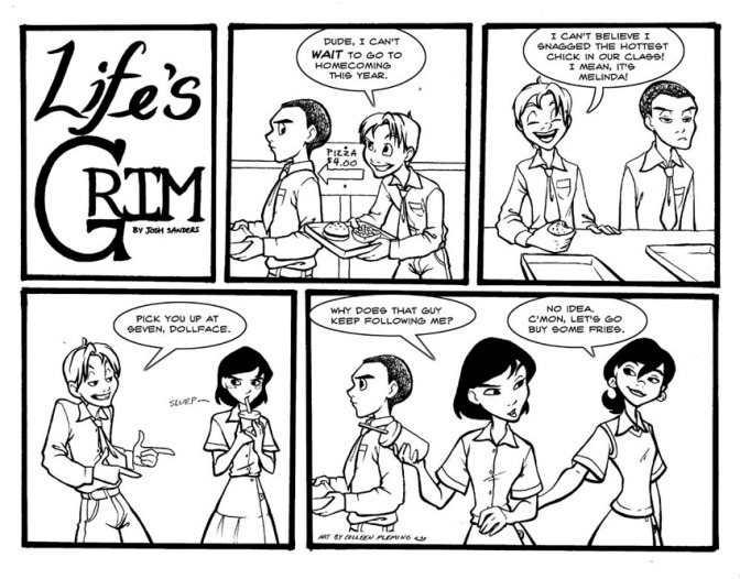 Comic: Life's Grim – Homecoming