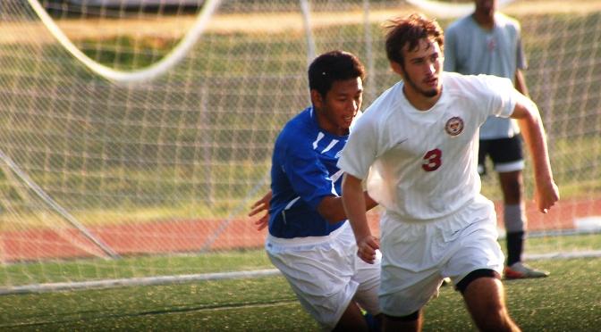 Zoom: Boys Soccer senior game against O'Connel