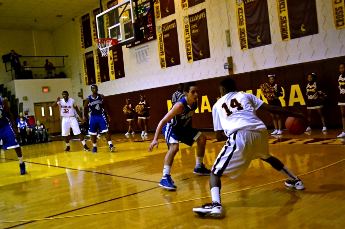 Boys Basketball keeps winning streak alive, against Bishop Ireton